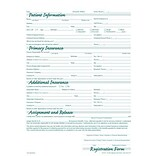 Medical Arts Press® Patient Registration Green FormFamily™; Imprinted