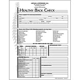Medical Arts Press® Chiropractic Forms; Healthy Back Check