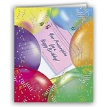 Medical Arts Press® Medical Birthday Cards; Prescription for a Happy Birthday,  Blank Inside