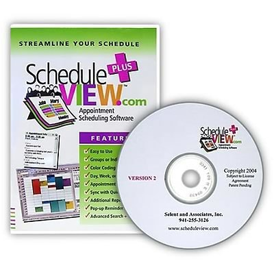 ScheduleVIEW Plus Appointment Scheduler; 10 Users