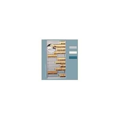 Medical Arts Press® Open Shelf MiniFile®; 63-3/4H, 9-Tier