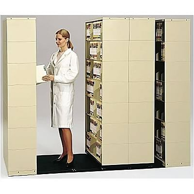 Medical Arts Press® Mobil-Stak® Open Shelf; 4-Unit, 7-Tier