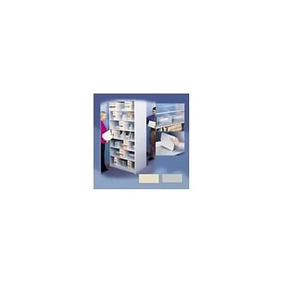 Medical Arts Press® 4-Post Open Shelf Double View; 8- Tier Starter Unit