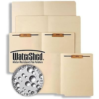 Medical Arts Press® WaterShed® Manila End-Tab Folders; No Fasteners