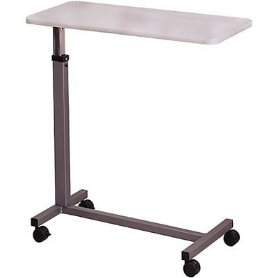 Brewer Overbed Table; Grey