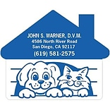 Medical Arts Press® Veterinary Die-Cut Magnets; 2-3/4x2-1/4, Dog and Cat House