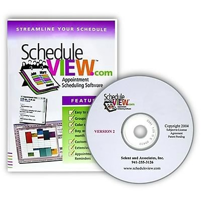 ScheduleVIEW Standard Edition Appointment Scheduler; 20 Users