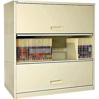 Medical Arts Press® Assembled Stak-N-Lok® 36 File Cabinets; 100 Series, 3 Tier