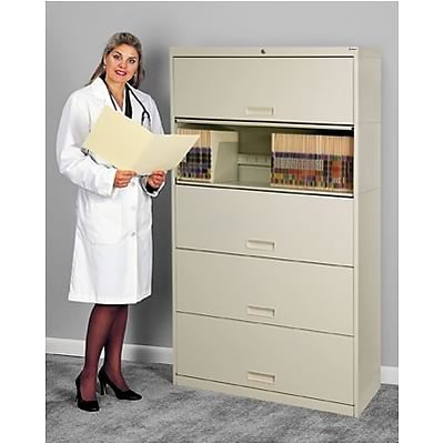 Medical Arts Press® Stak-N-Lok ® ; 100 Series; 5 Tier File