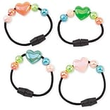 Smilemakers® Iridescent Heart Bracelets