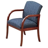 Lesro Weston Reception Room Furniture Collection in Standard Fabric; Guest Chair with Arms