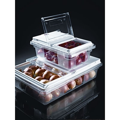 Rubbermaid® Food Storage Container Lid, Prosave™ 18x12 Dual Action Lid, Clear, 3/Pk