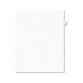 Avery® Title E Legal Side Tab Dividers