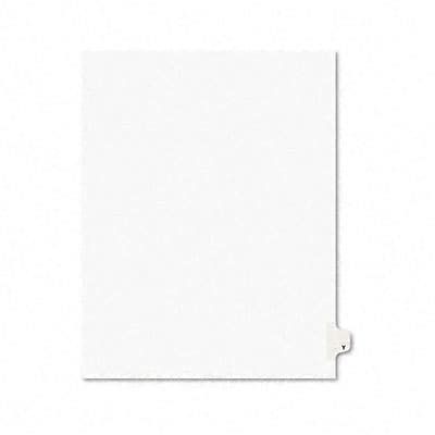 Avery® Individual Legal Dividers Avery® Style 1425, Letter Size, Tab Y