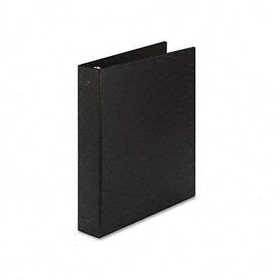 Avery® Economy 1-1/2 Round Ring Binder; Non-View, Black, 3-Ring