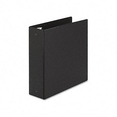 Avery® Economy 3 Round Ring Binder; Non-View, Black, 3-Ring