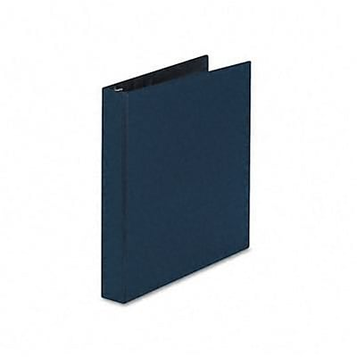 Avery® Durable Gap Free™ Slant 1 D-Ring Binder; Non-View, Blue, 3-Ring