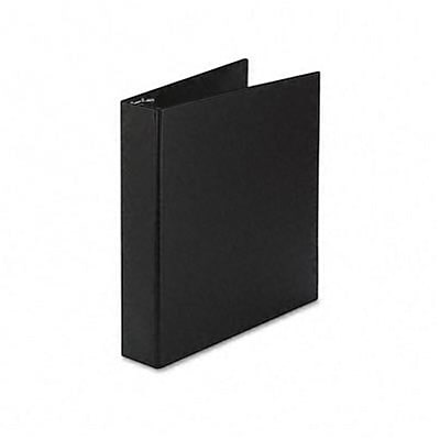 Avery® Durable Gap Free™ Slant 1-1/2 D-Ring Binder; Non-View, Black, 3-Ring