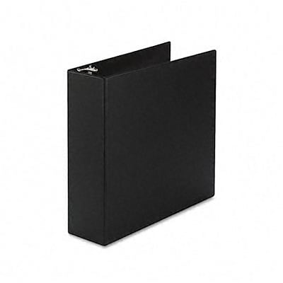Avery® Durable Gap Free™ Slant 3 D-Ring Binder; Non-View, Black, 3-Ring