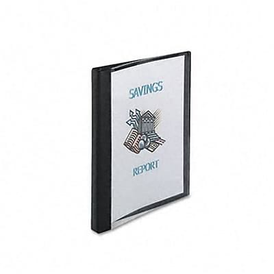 Avery® See-Thru™ 1/2 Round Ring Binder; View, Black, 3-Ring