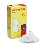 Avery® White Marking Tags; 2-3/4 x 1-3/4, White, 1000 per Box