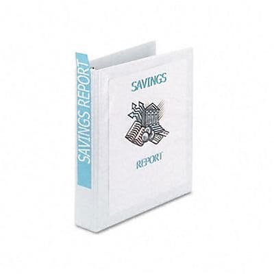 Avery® Economy Showcase 1-1/2 Round Ring Binder; View, White, 3-Ring