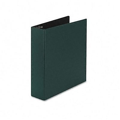Durable EZ-Turn Ring Reference Binder, 8-1/2 x 11, 2in Capacity, Green