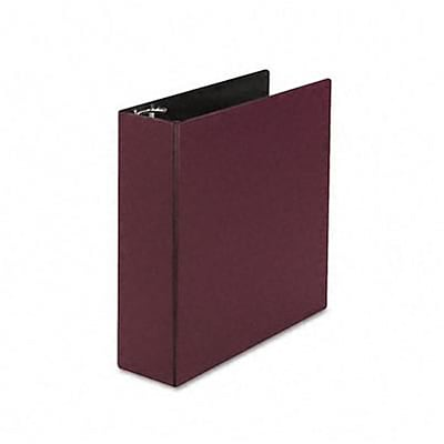 Durable EZ-Turn Ring Reference Binder, 8-1/2 x 11, 3in Cap, Burgundy