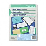 Avery® PRES-a-ply® Laser Address Labels; White, 1x2-5/8, 3000 Labels