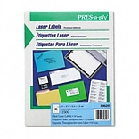 Avery® PRES-a-ply® Address Labels; Clear, 1x2-3/4, 1500 Labels