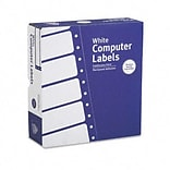 Avery® Continuous Form Labels for Dot-Matrix Printers; White, 3-1/2x15/16, 15000, 11-1/2 Width
