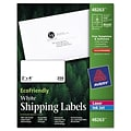 Avery® EcoFriendly White Address Labels 48263; 2x4, 250/Pack