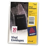 Avery 4x6 Top Loading Vinyl Protector Envl.