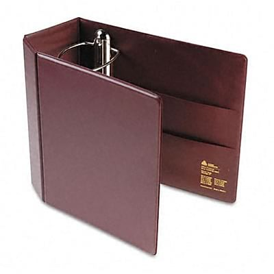 Avery® Heavy-Duty One Touch EZD™ 5 D-Ring Binder; Non-View, Maroon, 3-Ring