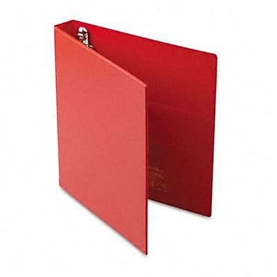 Avery® Heavy-Duty One Touch EZD™ 1 D-Ring Binder; Non-View, Red, 3-Ring