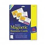 2 x 3-1/2 Inkjet Magnetic Business Cards