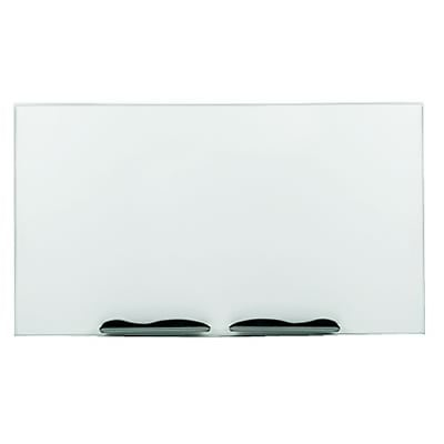 Ultra-Trim Magnetic Board, Dry-Erase Porcelain-on-Steel, 96 x 48, White/Silver