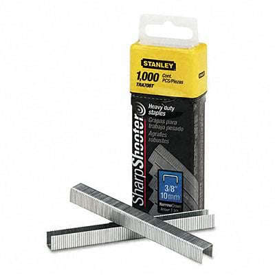 Bostitch® Sharpshooter Heavy Duty Staples; 3/8 Leg Length