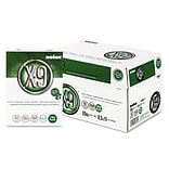 Boise X-9 3 Hole Punch Paper, 8 1/2 x 11, White, 5000/Carton (OX-9001-P)