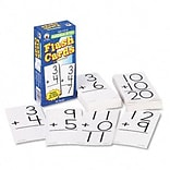 Carson-Dellosa Publishing® Flash Cards; Addition Facts 0-12, 6x3, 94 Two-Sided w/Round Corners