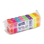 Chenille Kraft® Modeling Clay; Eight Neon Colors