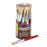 Round Natural Bristle Colossal Brushes