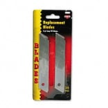 COSCO Replacement Blades; for Snap Blade Utility Knife, 10/Pack
