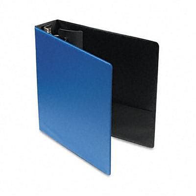 Cardinal® EasyOpen™ Locking Round Ring Binder with Label Holder; 2 Capacity,  Medium Blue