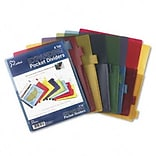Poly Expanding Pocket Index Dividers