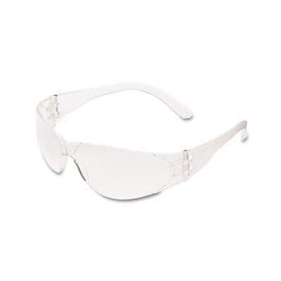 Crews® Checklite Scratch-Resistant Safety Glasses; Clear Lens