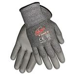 MCR™ Safety Ninja® Force Polyurethane Coated Gloves; Medium, Silver