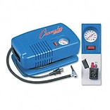 Electric Inflating Pump with Gauge, Hose & Needle, 1/4 HP Compressor