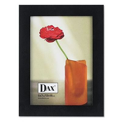 DAX® Solid Wood Tabletop Easel Back Picture Frames; 5x7