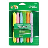 Dixon® Emphasis™ Desk-Style Highlighters; Chisel Tip, Assorted (Fluor BE, GN, OE, PK, PE, YE), 6/PK